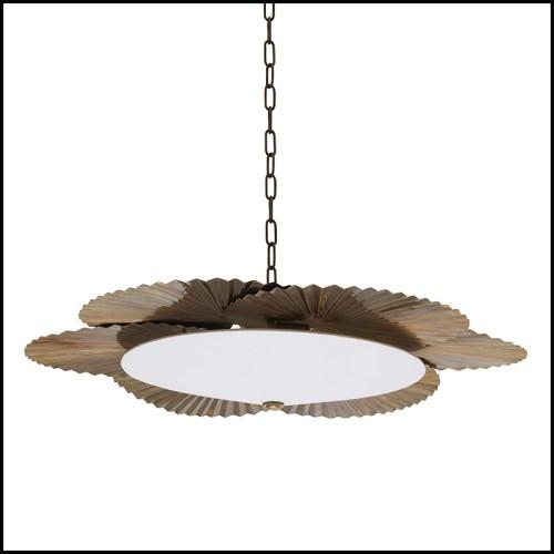 Fauteuil couvert avec tissu blanc moelleux 157-Fleecy Lounge