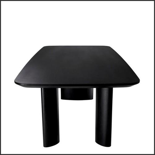 Table basse en fer forgé finition or 24k 107-Quadruple