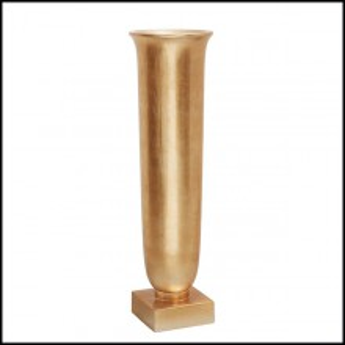 Vase en finition dorée style feuille d'or 162-Rob