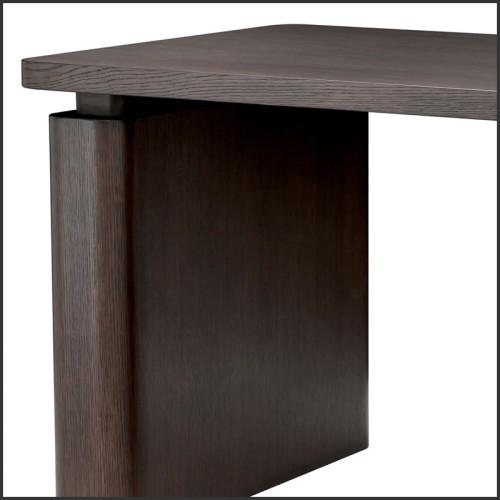 Miroir avec cadre en noyer massif 163-Sticky Walnut