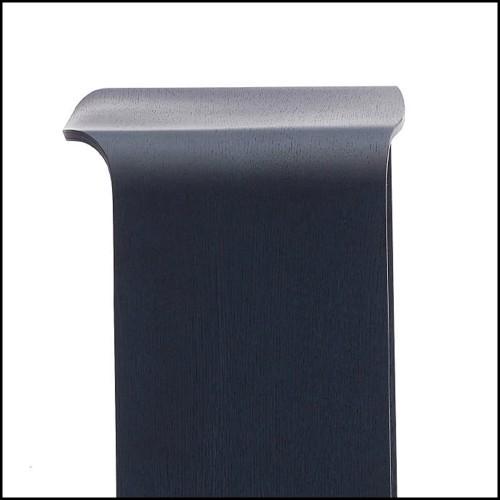 Miroir avec cadre profondeur finition laiton vintage 24-Magenta