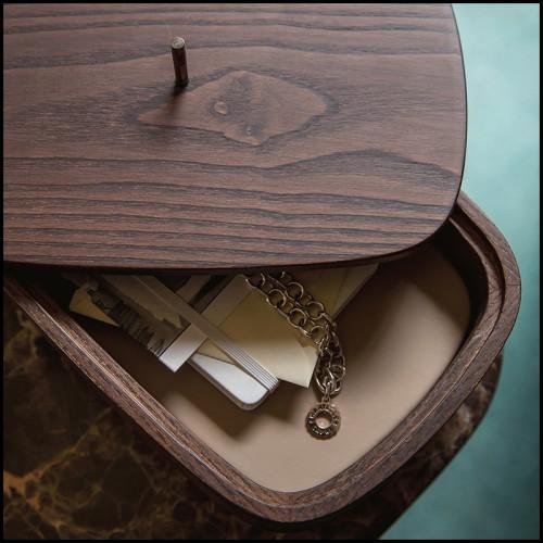 Vase en porcelaine avec corde peinte 24-Hernando S