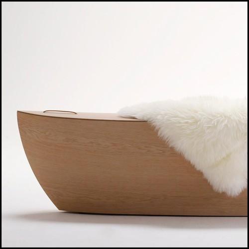 Miroir carrée laiton vintage 24-Magenta Square