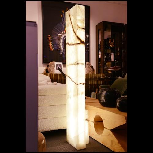 Lampe à poser avec sphère en alabaster 24-Scorpios S