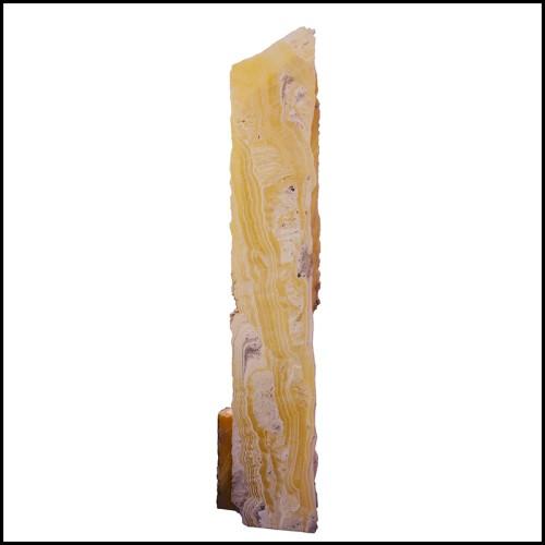 Table d'appoint métal forgé et pieds longilignes 119-Vallet