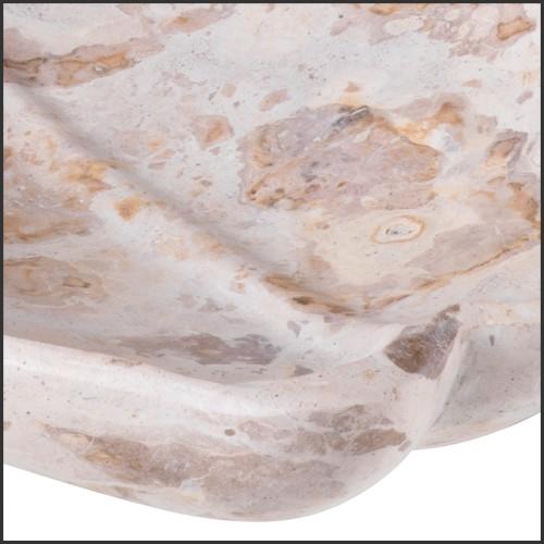 Table à manger acajou verre trempé clair 119-Niemeyer