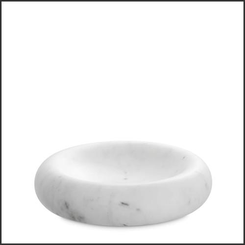 Vase en verre clair soufflé à la main 24-Thiara
