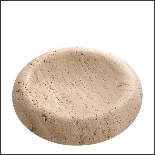 Vase en verre soufflé gris 24-Thiara Grey