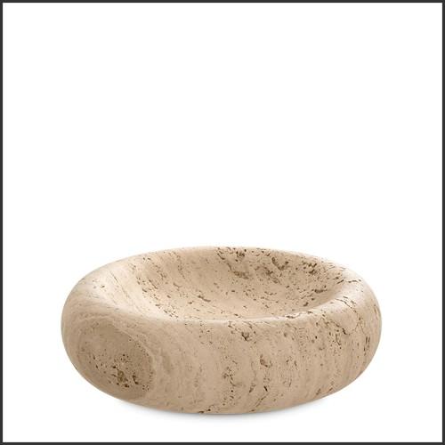 Objet décoratif en marbre blanc 24-Megan