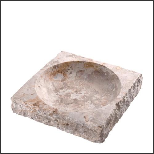 Applique laiton antique et verre claire 24-Gulf S Brass