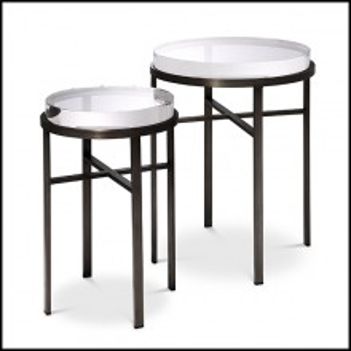 Set de Tables d'appoint 24- Hoxton Bronze