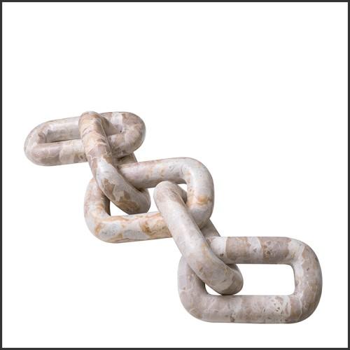 Coussin carrée motif feuilles de palmier 24-Mustique L