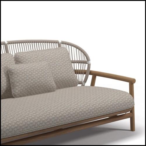 Coussin carrée velours vert 24-Roche Green