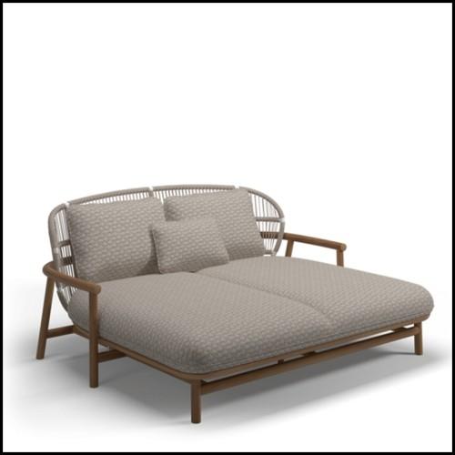 Coussin carrée velours bleu 24-Roche Bleu