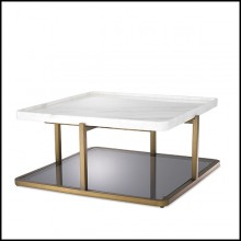 Coffee Table 24- Grant White