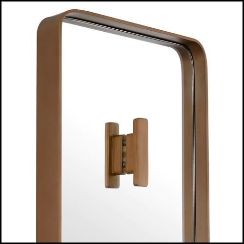 Table basse finition laiton brossé et marbre noir 24-Grant Black
