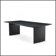 Table à manger gris anthracite 24-Tricia