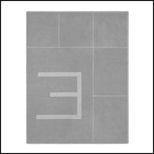 Décoration murale en planche de bois finition Gold Leaf 119-Multigrid