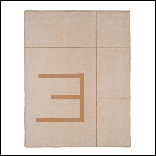 Chaise longue en PCA finition Lava et textile Mocca 48-LATONA Mocca