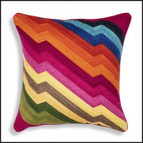 Coussin carrée multicolor 24-Jasmin