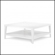 Table basse finition blanc 24-Bell Rive White