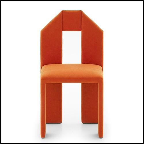 Table à manger carrée avec plateau en marbre blanc 24-Mercier Square