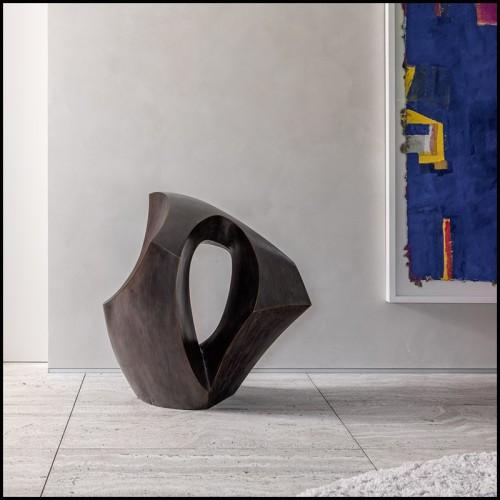 Boîte à bougie en porcelaine et or 24 carats 172-Blue Eye Gold