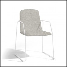 Chair stackable in PCSTS white 48-Loop White