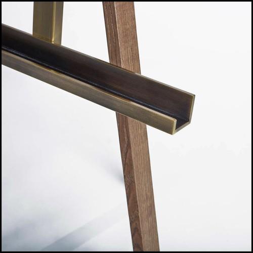 Sculpture panthère en couches d'aluminium PC-Panther Polished