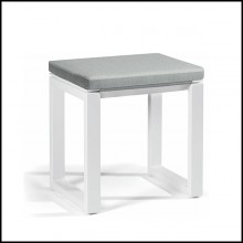 Small bench in PCA color white 48-Fuse White