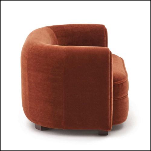 Canapé d'extérieur 2,5 places lotus smokey 48-Zendo White