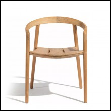Dining Chair Teak 48-Solid