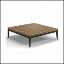 Table basse 45-Gris Teck