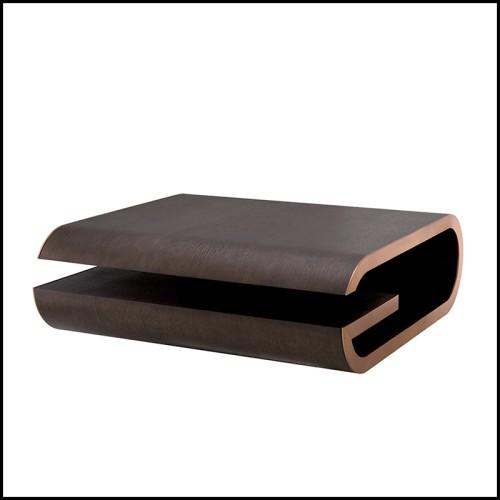 Lampe à poser tubes en finition laiton antique et abats-jour blanc 24-Viggo