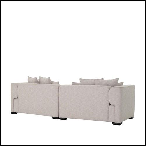 Canapé en cuir et structure en chêne avec 9 finitions disponibles 31-Cocoon Chesterfield
