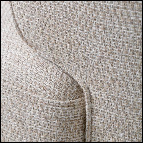 Canapé en tissu avec structure en bois massif entièrement déhoussable 152-Trulli Double