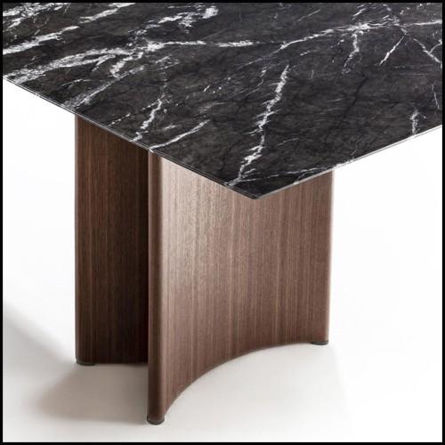 Chaise de repas en résine blanche 111-Frame