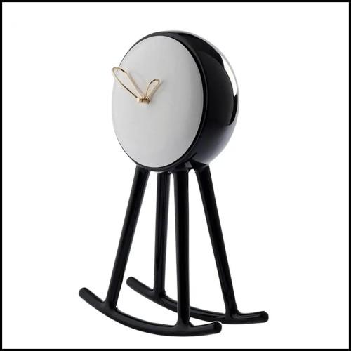 Fauteuil de repas assise en textile coloris white-white 48-Latona