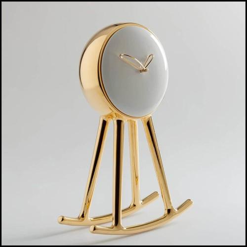 Coffre avec structure en bois massif recouvert de cuir de vachette noir et blanc 35-Wild Cowhide