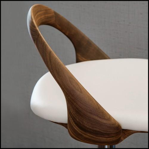 Plafonnier en laiton et aluminium composé de globes noir brillant et plaqué or 151-Atomic