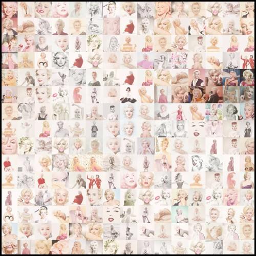 Lampe en structure cristal et nickel 24-Universal