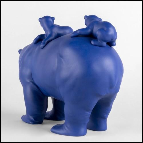 Lampe avec pied de lampe en bois 152-Kheops