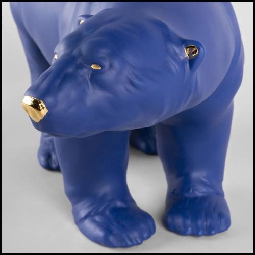 Lampe avec structure finition laiton antique 24-Brunswick