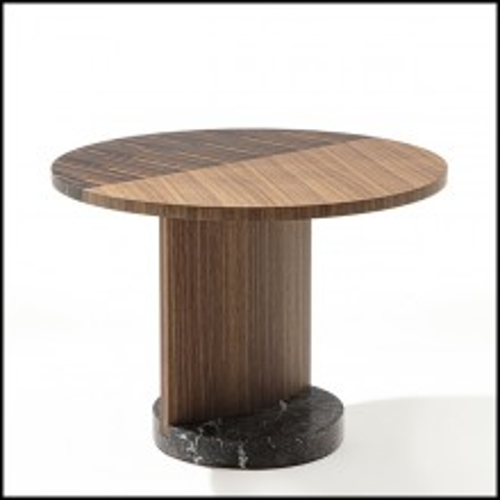 Table d'appoint 163-Walnut L