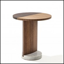 Table d'appoint 163-Walnut M