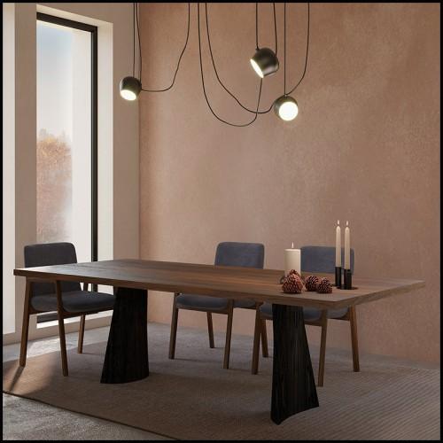 Table basse 163-Walnut Case