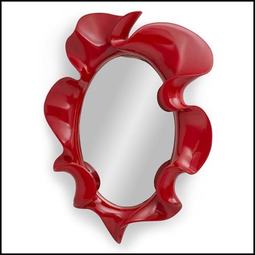 Miroir avec miroirs en verre inclinés et modulables avec 4 panneaux modulables 194-Shifted Glass