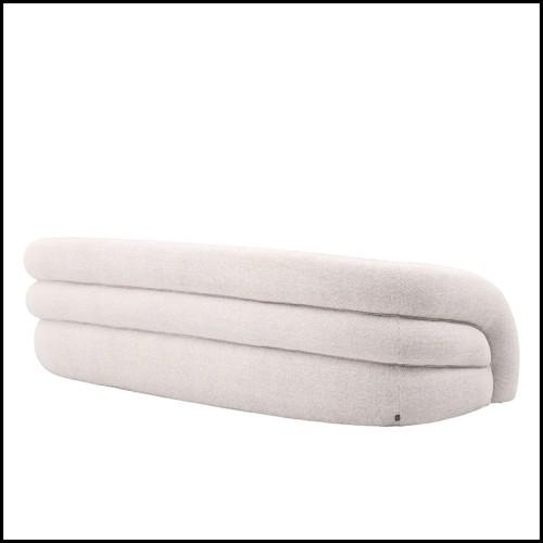 Armoire avec structure en fonte finition Black avec rivets et détails en plaqué Gold 24 carats 107-Riveted