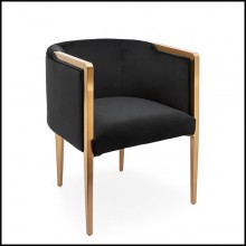 Chaise 162-Guardian Black