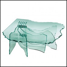 Table basse 146-Glass Sheets